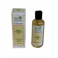 Body Massage Oil Pet Bottle 210ml
