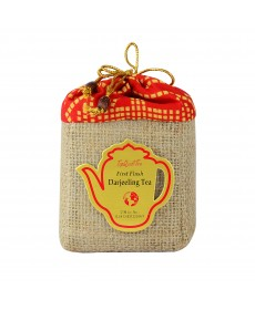 Darjeeling First Flush Tea Jute Bag 100g