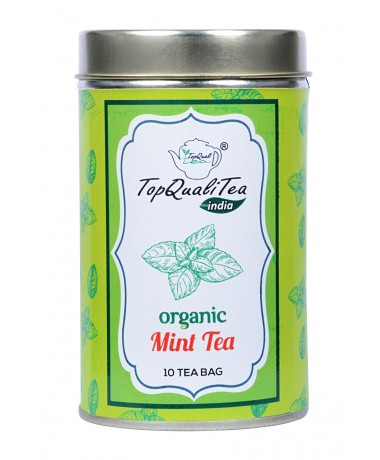 Mint Tea Tin Box 50gm