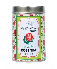 Rose Tea Bag Tin Box