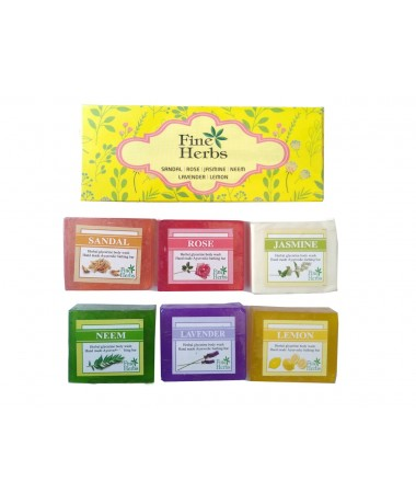 Soap Set 6 in 1 Gift Set 50gm Each