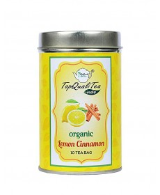 Lemon Cinnamon Tea Bag Tin Box