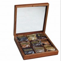 Spice (9 in 1) Wooden Tray