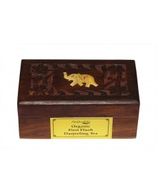 Darjeeling First Flush Tea Wooden Box 50gm